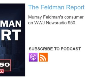 """Don't Connect Your Phone to Rental Car"" mentioned on CBS-Detroit Newsradio 850 Feldman Report"